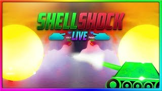 MEGANUKE PERFECT SYNERGY! | ShellShock Live Gameplay
