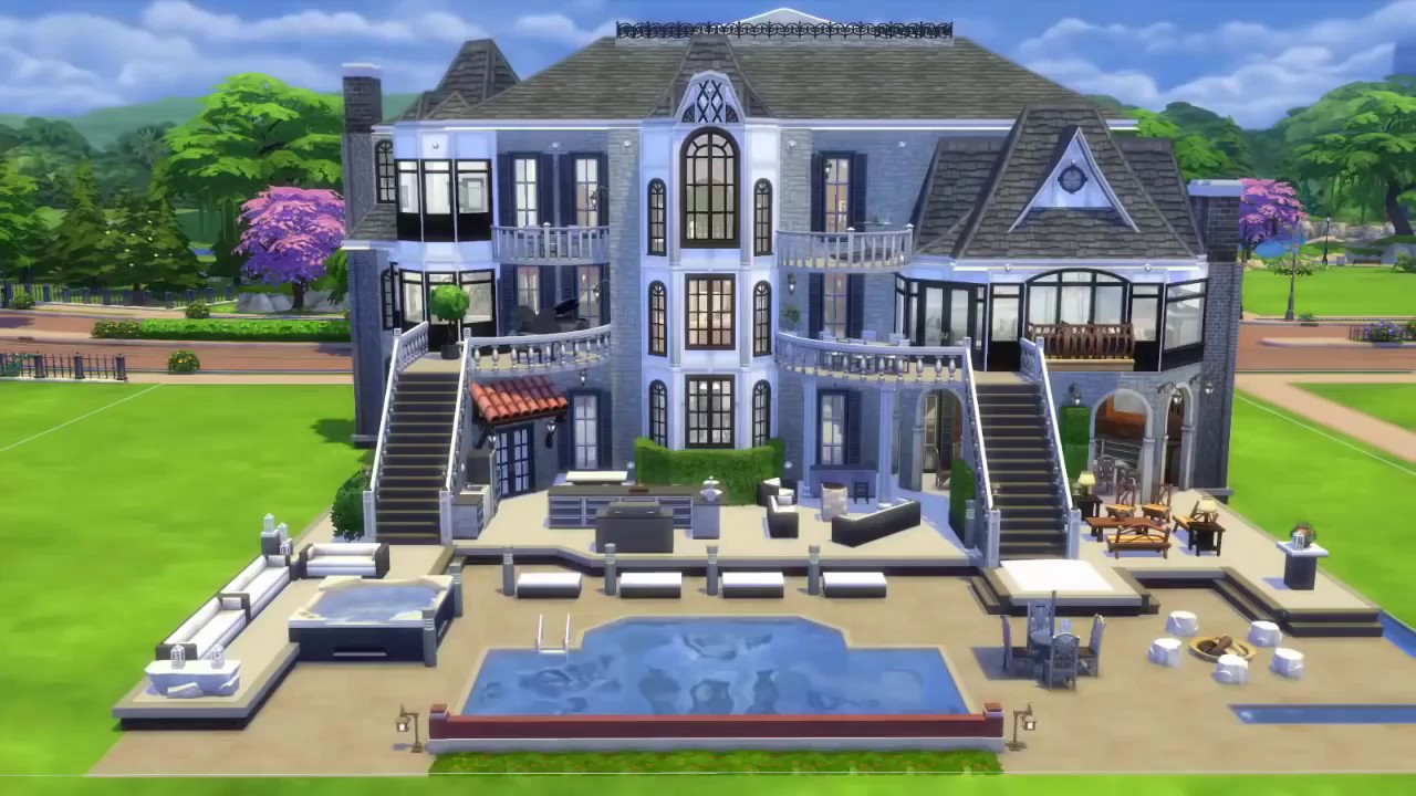 The Price Is Right 30/10/2016 The Sims 4 House Build Mansion COOLEST HOUSE  EVER TOUR