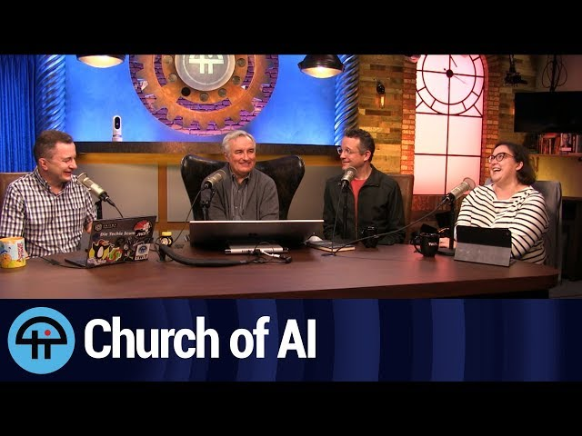 Anthony Levandowski's Church of Artificial Intelligence