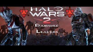 Halo Wars 2-Banished Leaders