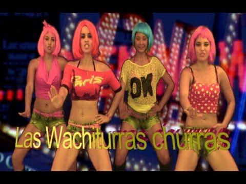 las wachiturras churras - el baile de la cintura -Autor: RENATO de Panama