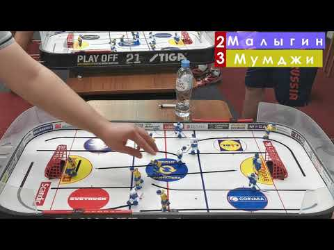 Tablehockey. 1/4 Final Of The Russian Championship.
