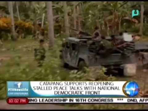 Catapang supports reopening stalled peace talks with National Democratic Front || Jun. 29, 2015