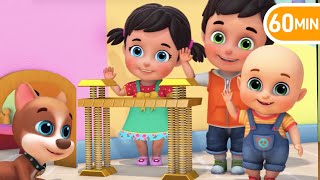London Bridge Is Falling Down Nursery Rhymes Popular Baby Songs | Kids cartoon | Jugnu kids