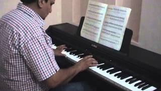 Yaadon Ki Baraat On Piano ( Rajeev Kumar