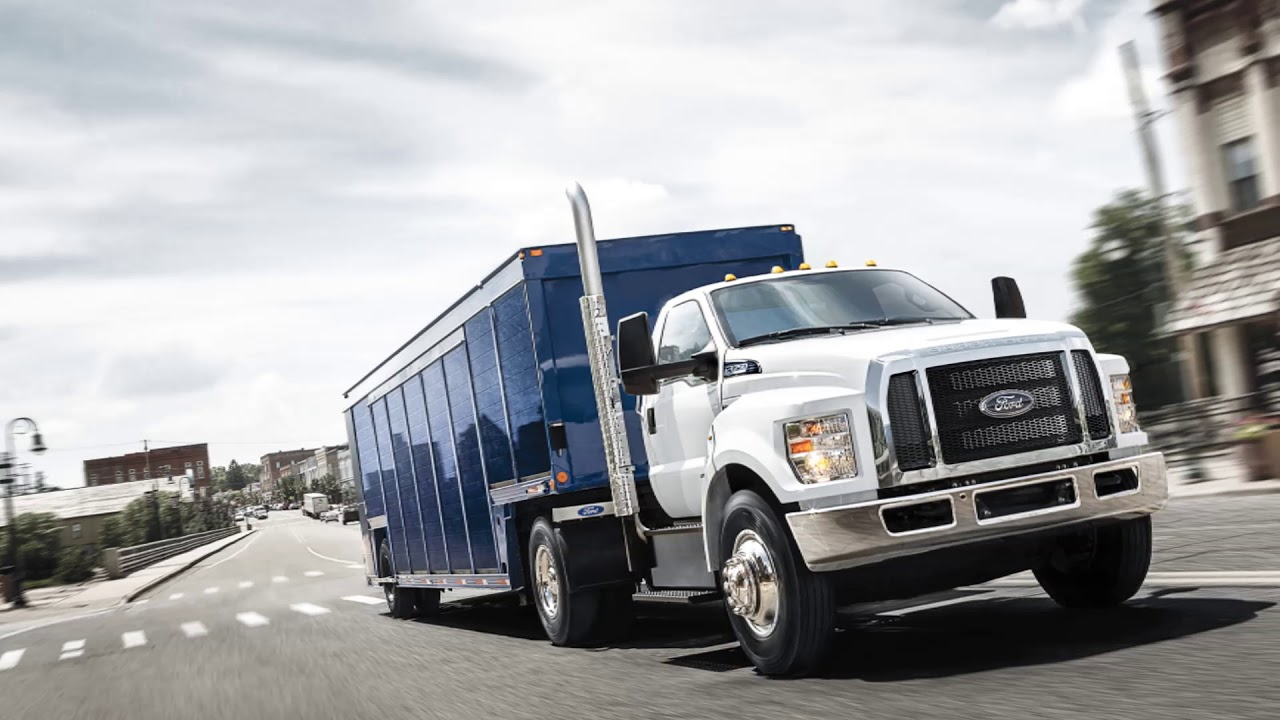 2018 ford f650 - youtube