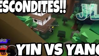 3 hideouts no one knows about. (YIN vs YANG) *ROBLOX*
