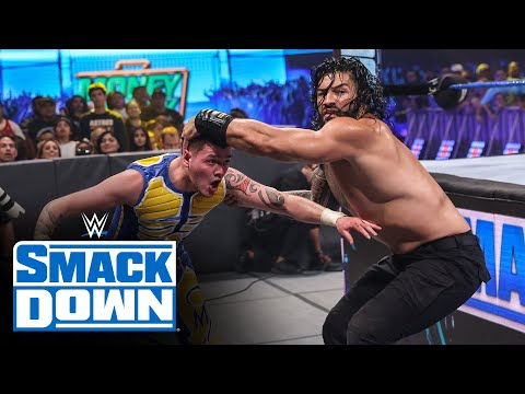 Edge & The Mysterios vs. Roman Reigns & The Usos - Six-Man Tag Team Match: SmackDown, July 16, 2021