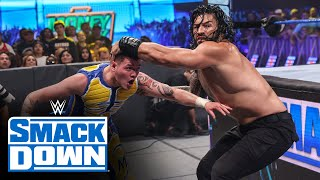 Edge The Mysterios vs Roman Reigns The Usos Six Man Tag Team Match SmackDown July 16 2021