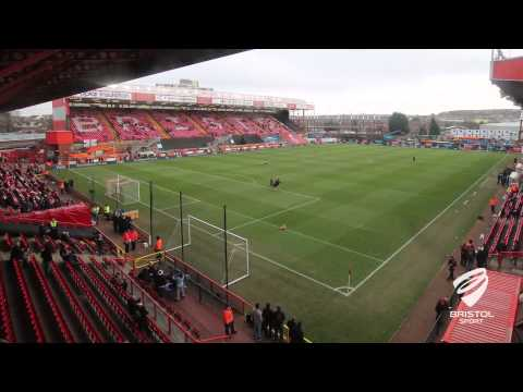 Bristol City v West Ham United - Ashton Gate Time Lapse