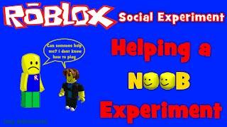 ROBLOX Social Experiement   Helping a Noob!? thumbnail