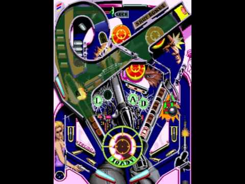 Super Pinball Action US MAME Gameplay video Snapshot -Rom name spbactn-