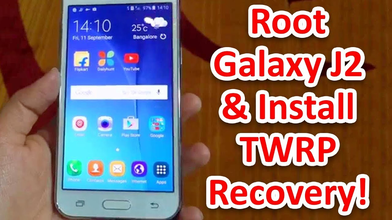 HOW TO INSTALL TWRP RECOVERY ON J200H [UPDATE]