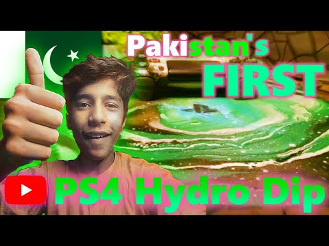 Pakistan's first Playstation Hydro-dip!!!(Gone Satisfied)