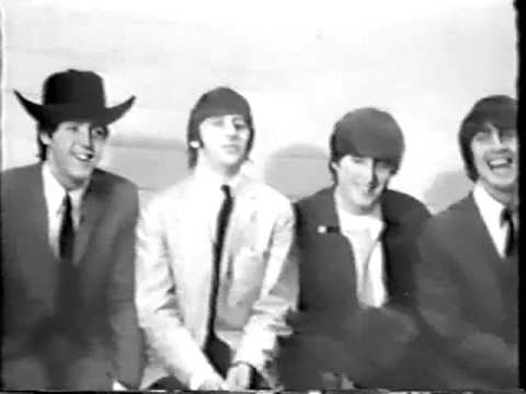 The Beatles Dallas Interview Youtube