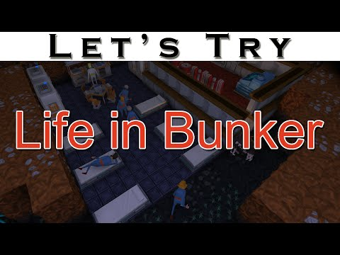 Let's Try Life in Bunker - Bunker Building Simulation
