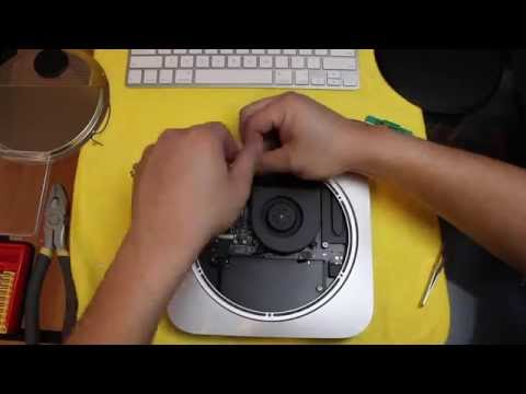 Upgrading New 2014 2015 Mac Mini to SSD Solid State Drive