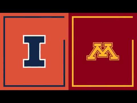 Highlights: Illinois Fighting Illini vs. Minnesota Golden Gophers | Big Ten Basketball