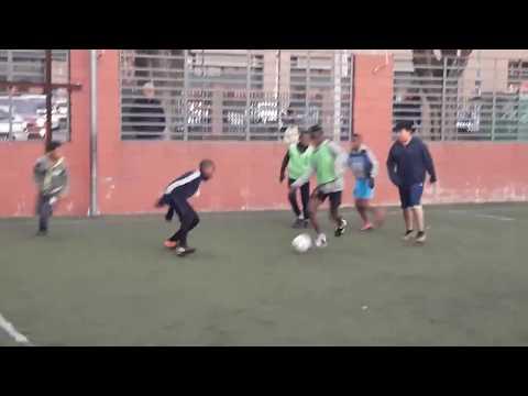 MBAPPE DEL FUTBOL JUVENIL HAITIANO EN CHILE  haitien nan lekol football chile FUTURE  mbape