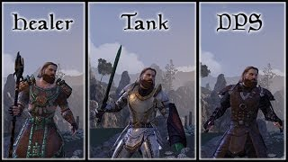 Know Your Role - Understanding the Holy Trinity in The Elder Scrolls Online tank, DPS, and Healer