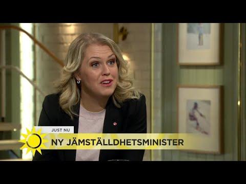 """Lena Hallengren ny jämställdhetsminister: """"Stor skillnad att vara minister när man är 44 mot nä"""