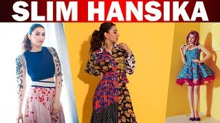 Actress Hansika become slim