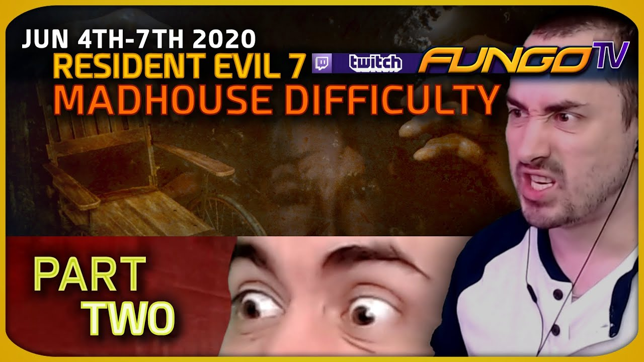 Resident Evil 7 - Madhouse Difficulty Live Long-Play [Part 2/2]