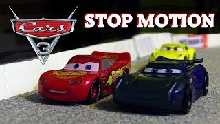 Cars 3 Stop Motion - Piston Cup Race