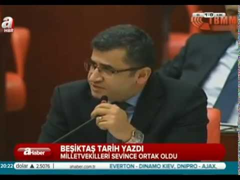 Meclis Beşiktaş Maçı İçin Ara Verdi. Mola Sonrası Zozani Ne Dedi.