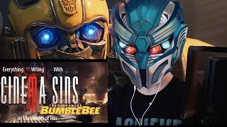 REACTION: Everything Wrong with CinamaSins: Bumblebee in 19 Minutes or Less