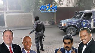 Kòtèj Prezidan An Pran Nan Barikad - Ayiti Ak Plizyè Peyi Imilye Maduro - Dosye TPS Bon Nouvel