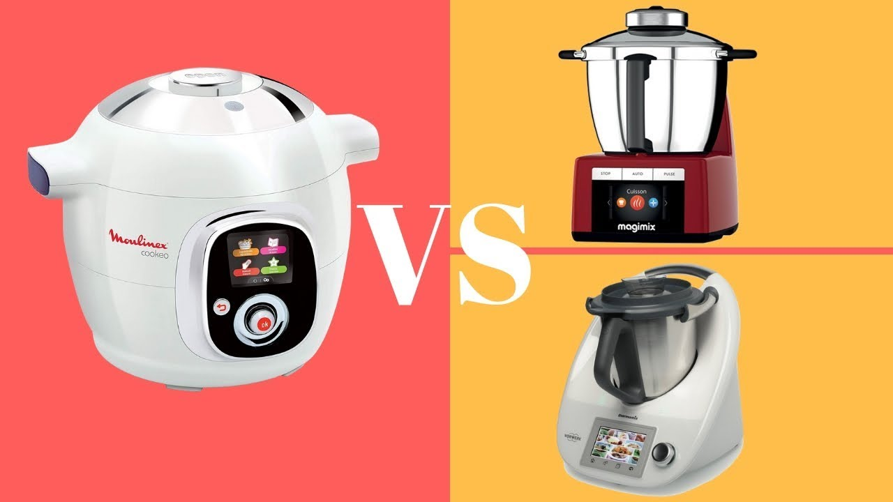 Difference Magimix Et Thermomix comparatif cookeo, magimix & thermomix