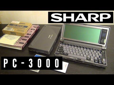 Sharp PC-3000 и PC-3100. Продвинутые палмтопы