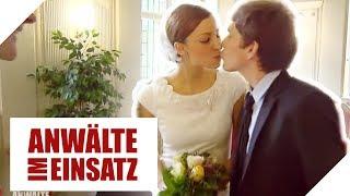 Kürzeste Ehe der Welt: Bräutigam verschwindet auf Hochzeit! | 1/2 | Anwälte im Einsatz | SAT.1