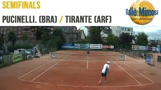 PUCINELLI DE ALMEIDA (BRA) vs TIRANTE (ARG) Semifinals - (ARG)