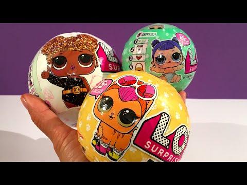 3 verschillende L.O.L. Surprise Ballen openmaken waaronder PETS!