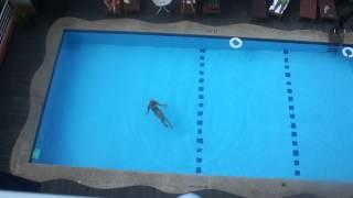 заплыв по лягушачьи
