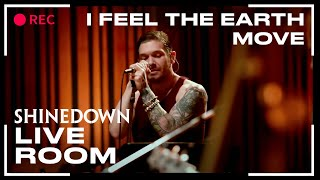 Shinedown I Feel The Earth Move (Carole King cover) captured in The Live Room