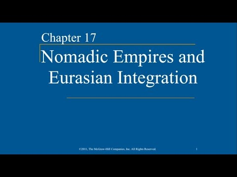 AP World History - Ch. 17 - Nomadic Empires and Eurasian Int