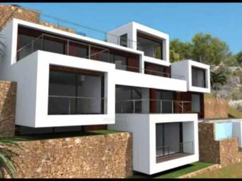 Visite villa de luxe benissa design moderne original incroyable top immobilier espagne youtube for Image maison moderne villa