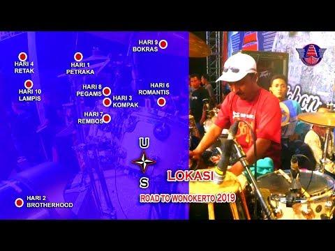 "JADWAL DAN LOKASI LIVE NEW PALLAPA  ""ROAD TO WONOKERTO 2019"" PEKALONGAN JAWA TENGAH"
