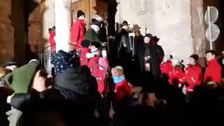 Nikolauseinzug 2018 Innsbbruck Lied der Nachtwächter