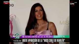 Detalles del fracaso de la Miss Chile en concurso de belleza - SQP