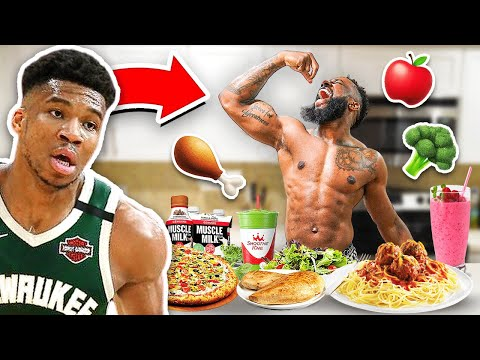 Eating The Giannis Diet \u0026 Workout For 24 Hours!