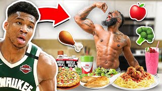 Eating The Giannis Diet & Workout For 24 Hours!