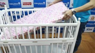 Giường cũi trẻ em Bonita đa năng xuất khẩu - KidsPlaza.vn