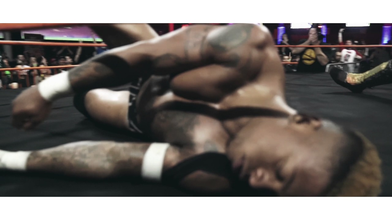 INCREDIBLE sequence from Ken Broadway v. Lio Rush II - House of Glory Wrestling