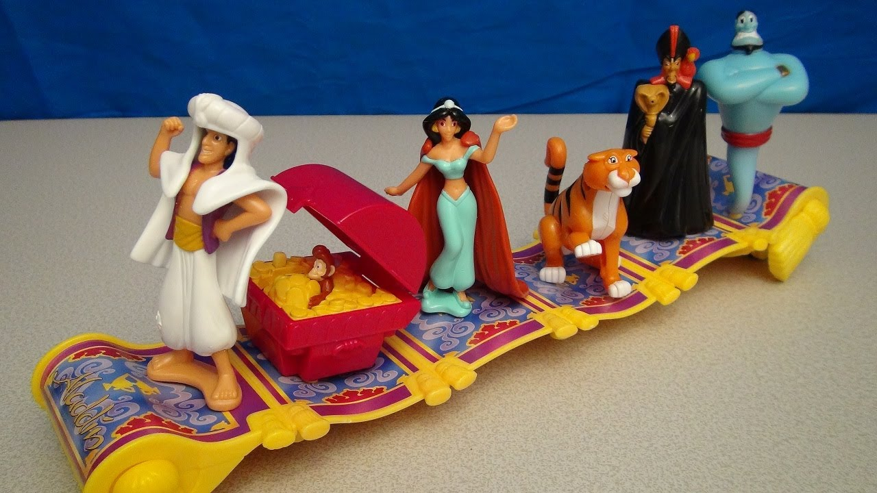Disney S Aladdin 2004 Mcdonalds Happy Meal Toy Collection
