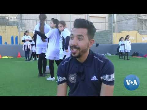 Young Libyan Women Play for Equal Rights on the Soccer Field