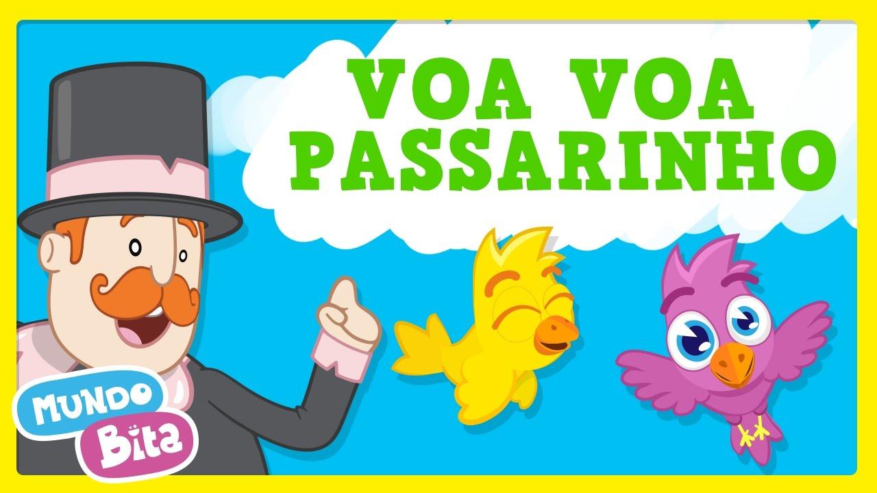 Mundo Bita Voa Voa Passarinho Clipe Infantil Youtube